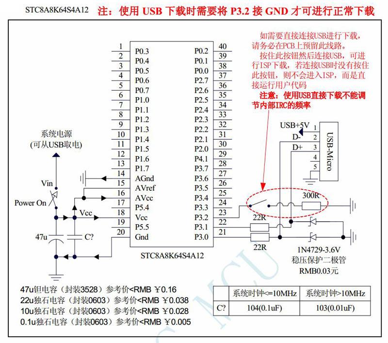 stc单片机串口下载_STC单片机的直接USB的ISP下载(非串口)及实际体验(2020年4月新增 ...
