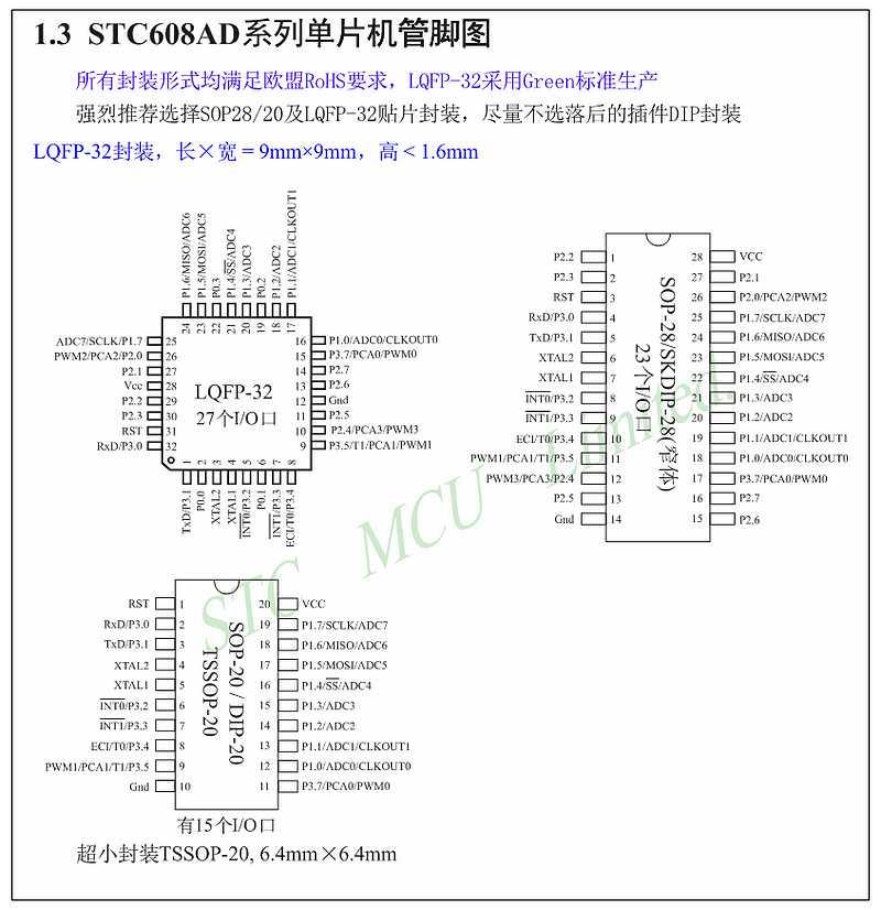stc12c5406ad电路图